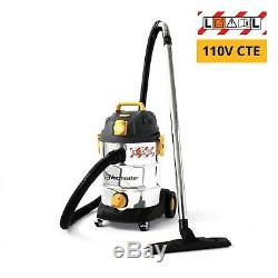 110V Vacuum Cleaner 30L Wet & Dry L Class Industrial Dust Extractor w. 110V PTO