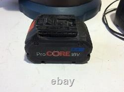 2019.12 Bosch Professional GAS 18V-10L+Pro core 8.0ah Battery +Bosch Al3640CV