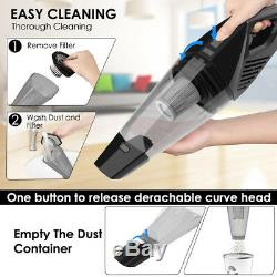 7000PA Wet&Dry Car Home Vacuum Cleaner Rechargeable Handheld Hoover Cordless Vac