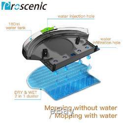 Alexa Vacuum Cleaner Robot Pet Hair 3 in 1 Auto Navigation Wet Dry Sweeping Mop