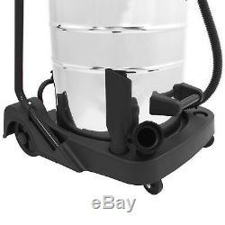 Aspiradora Industrial Wet & Dry Vac Comercial De Acero Inoxidable 80L 3000W
