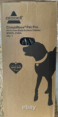 BISSELL CrossWave Pet Pro Multi-Surface Wet Dry Vac 2306A