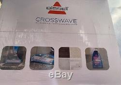Bissell 1713 CrossWave All in One Wet & Dry Cleaner Blue / Grey BNIB Sealed