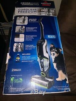 Bissell CrossWave Max Wet/Dry Cordless Multi-Surface Cleaner 36V #2590 New Open