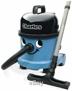 Charles Wet and Dry Vacuum Cleaner 15L Cylinder Blue
