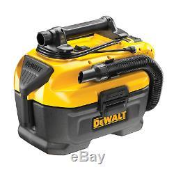 DEWALT DCV584L 18v/54v Li-Ion Cordless/ Mains Corded XR Wet & Dry Vacuum Cleaner