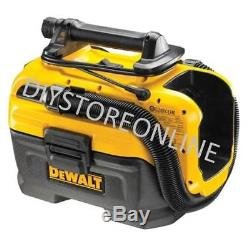 DeWALT 18v Cordless Wet & Dry Vacuum Li-Ion Blower Bare / Mains