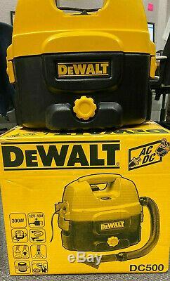 DeWALT DC500-LX Wet & Dry Vacuum Cleaner / Hoover 110V SITE USE ONLY