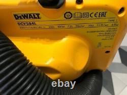 DeWalt DCV584 Flexvolt XR 14.4V 18v Wet Dry Cordless Corded Vacuum DCV584L
