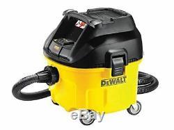 DeWalt DWV901 Wet & Dry Dust Extractor Range