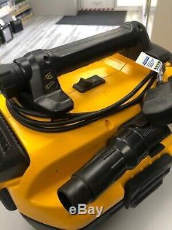 Dewalt DCV582 18v XR li-ion AC/DC wet & dry vacuum cleaner. Hoover