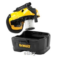 Dewalt DCV584L 14.4/18V/Flexvolt 54V XR Cordless/Corded Wet & Dry Vacuum Body O