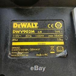 Dewalt hoover DWV902M 110v Next Gen M Class Dust Extractor Vacuum Wet Dry'2150