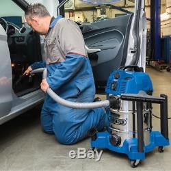 Draper 30L 1600W WET & DRY Vacuum Cleaner Integrated Power Socket 20529 (VAX)