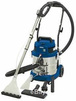 Draper 75442 20L 1500W 230V Wet and Dry Shampoo Vacuum Cleaner