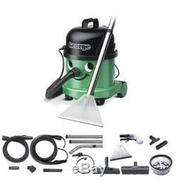 George GVE370 Wet/Dry Numatic Vacuum/Upholstery/Carpet Cleaner Green