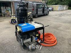 Gutter cleaning Business Set Honda Generator 10kva Wet & Dry Vacuum Cleaner 110v