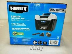 HART 20-Volt Cordless 2-Gallon Wet/Dry Vac (Battery Not Included) Father''s Day
