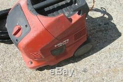 HILTI VC 20-U 110v Wet and Dry Vacuum Dust Extractor Vac control hose