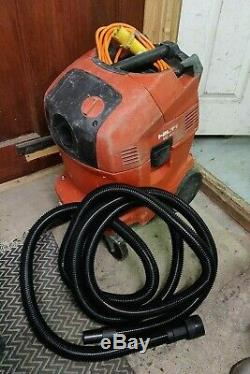 HILTI VC 40-U 110v Wet and Dry Vacuum Dust Extractor Vac control hose Filter