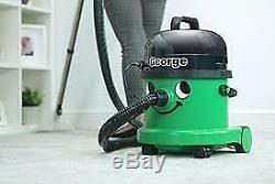 Henry George Wet and Dry Vacuum, 15 Litre 1060 Watt, Green