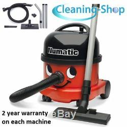 Henry Hoover Vacuum Cleaner New Enhanced Model Nrv240-11 Numatic Commercial