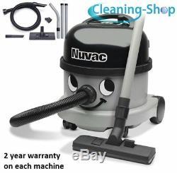 Henry Vacuum Cleaner Hoover Genuine Nuvac Vnr200 Silver Commercial Vacuum
