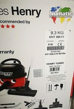 Henry turbo vacuum cleaner