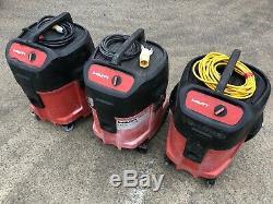 Hilti VCU 40 Vacuum Wet & Dry 110v