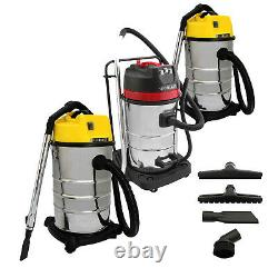 Industrial Vacuum Dust Extractor Wood Chip Collector Wet & Dry Commercial Clean