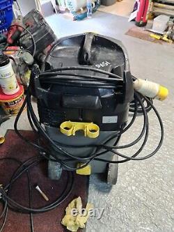 Karcher NT 35/1 110v 35L Wet Dry Vacuum Cleaner WORKSHOP Building SITE 5m hose