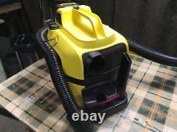 Kärcher WD1 Battery, Cordless Portable Compact Wet & Dry Vacuum Cleaner