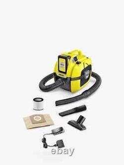 Kärcher WD1 Wet & Dry Cordless Vacuum Cleaner NEW