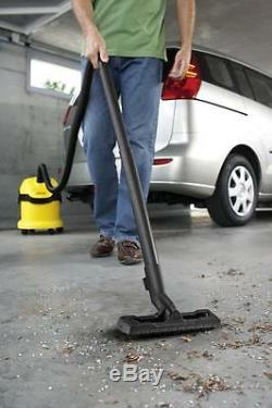 Karcher WD2 Compact Tough Wet & Dry Multi-Purpose Vacuum Cleaner FREE DELIVERY