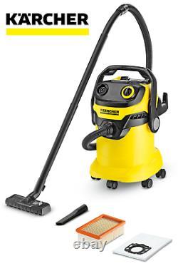 Karcher WD 5 Wet & Dry Vacuum Cleaner 3 YEAR WARRANTY 1.348-203.0