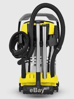 Karcher Wd 6, Wet & Dry Vacuum Cleaner, Self Cleaning Filter, In&outdoor, Blower
