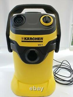 Kärcher wD5 Wet and Dry Vacuum Cleaner Yellow (13482030)