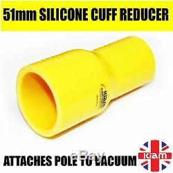Kiam Gutter Cleaning System KV100-3 Wet & Dry Vacuum Cleaner & 20ft 6m Pole Kit