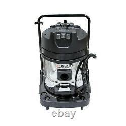 Kiam Gutter Cleaning System KV60-3 Industrial Wet Dry Vacuum Cleaner & Pole Kit