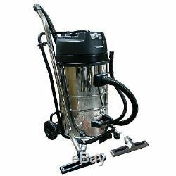 Kiam Gutter Cleaning System KV80-3 Wet & Dry Vacuum Cleaner & 20ft 6m Pole Kit