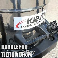 Kiam Gutter Cleaning System KV80 Wet & Dry Vacuum Cleaner & 36ft 10.8m Pole Kit