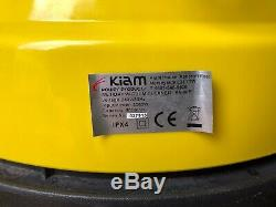 Kiam KV-80P 80 Litre Industrial Triple Motor 3000W Wet & Dry Vacuum Cleaner