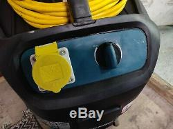 Makita 447L 110v Wet and Dry Vacuum Dust Extractor Vac control hose L class