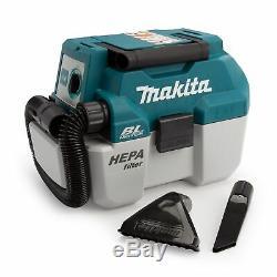 Makita DVC750LZ 18V Cordless Brushless L-Class Wet/Dry Vacuum Cleaner Body Only
