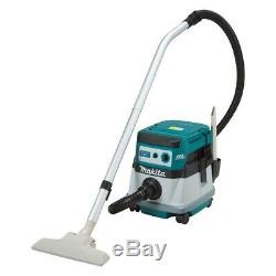 Makita DVC862L 36V (18Vx2) BRUSHLESS Li-ion Dust Extraction Vacuum, Wet and Dry