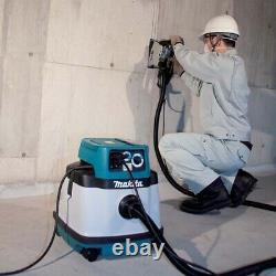 Makita VC2510LX1 25L Wet/Dry Vacuum, 1,050W, Dust Extraction, L Class