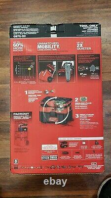 Milwaukee 0970-20 M18 Fuel Packout 2.5 Gallon Wet/Dry Vacuum Cleaner