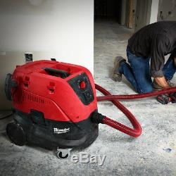 Milwaukee 8960-20 8-Gallon 148-Cfm HEPA Filter Dust Extractor Vacuum