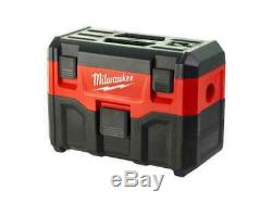 Milwaukee M18VC2 18v Wet and Dry Vacuum 2nd Generation Bare Unit
