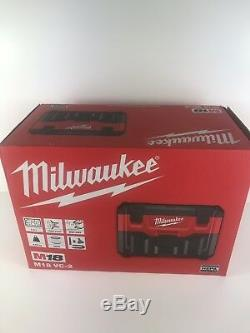 Milwaukee M18VC2 M18VC2-0 18v Cordless Wet & Dry Vacuum 2nd Generation Body Only